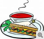 Soup and sandwich 2