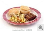 eggs sausage